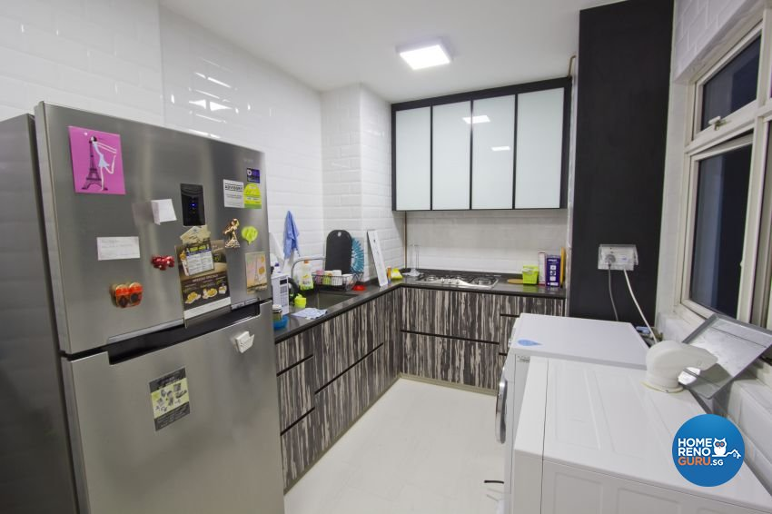 Scandinavian Design - Kitchen - HDB 4 Room - Design by Met Interior