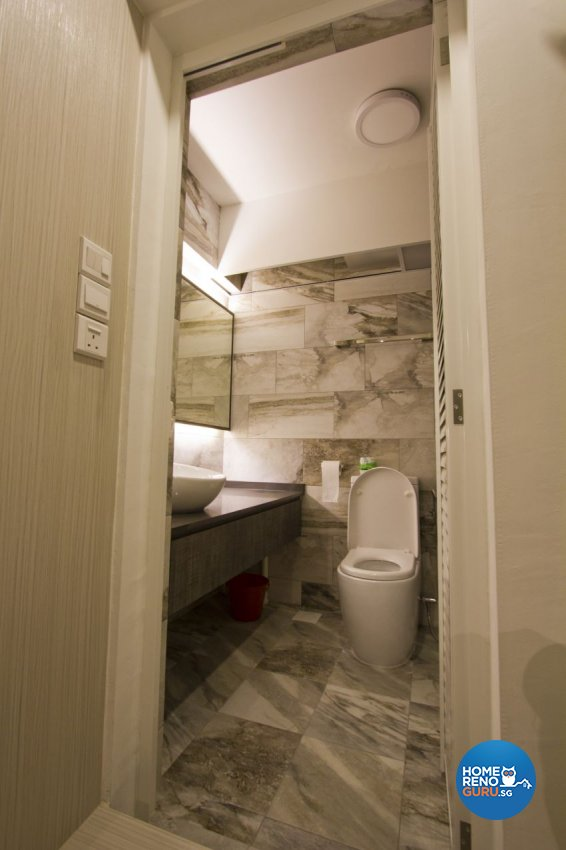 Scandinavian Design - Bathroom - HDB 4 Room - Design by Met Interior