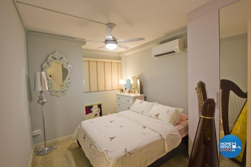 Scandinavian Design - Bedroom - HDB 3 Room - Design by Met Interior