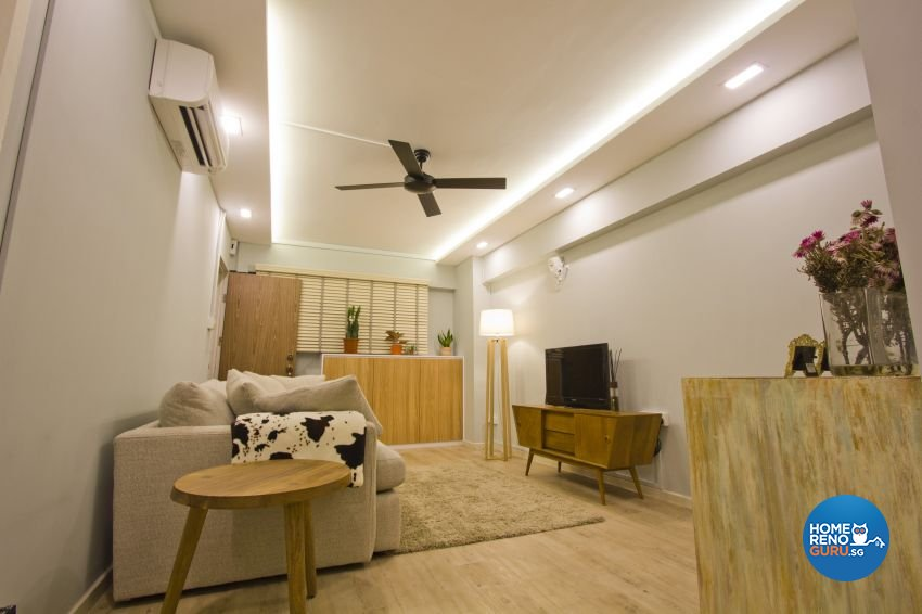 Scandinavian Design - Living Room - HDB 3 Room - Design by Met Interior