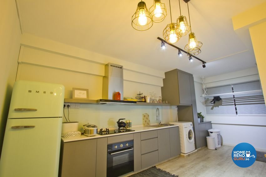 Scandinavian Design - Kitchen - HDB 3 Room - Design by Met Interior