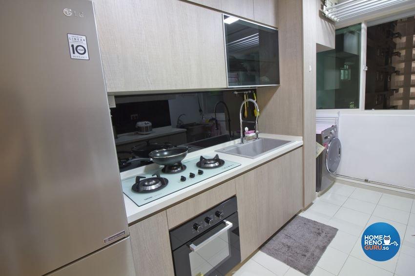 Scandinavian Design - Kitchen - HDB 4 Room - Design by Met Interior