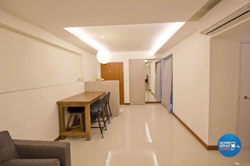 Scandinavian Design - Dining Room - HDB 4 Room - Design by Met Interior