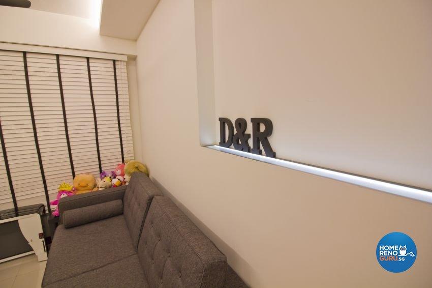 Scandinavian Design - Living Room - HDB 4 Room - Design by Met Interior