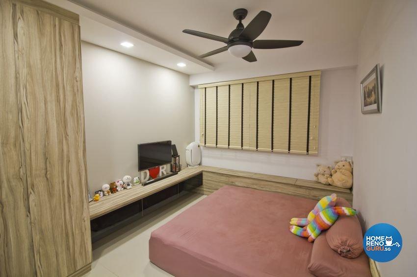 Scandinavian Design - Bedroom - HDB 4 Room - Design by Met Interior