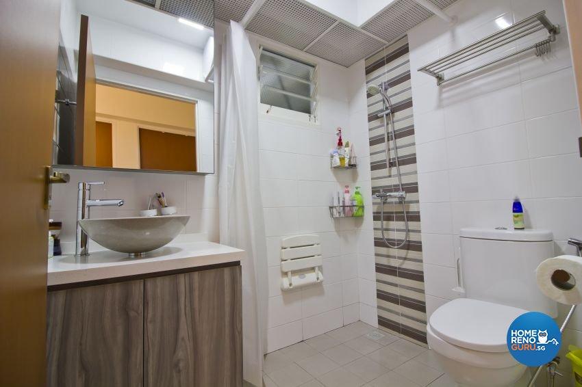 Scandinavian Design - Bathroom - HDB 4 Room - Design by Met Interior