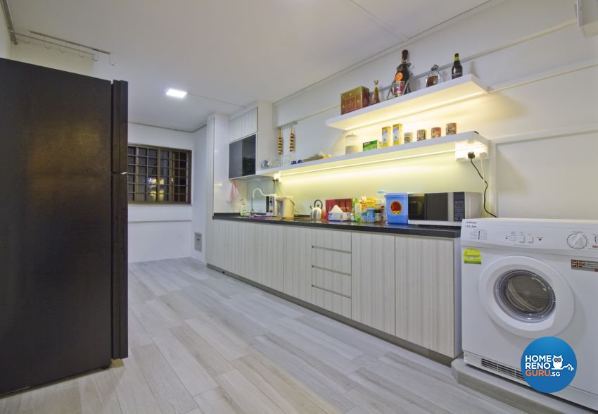 Modern Design - Kitchen - HDB 5 Room - Design by Met Interior