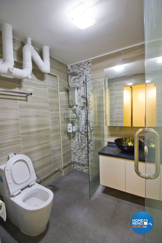 Modern Design - Bathroom - HDB 5 Room - Design by Met Interior