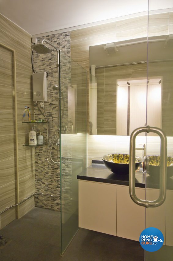 Modern Design - Bathroom - HDB 5 Room - Design by Met Interior