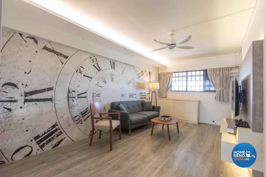 Modern Design - Living Room - HDB 3 Room - Design by Met Interior