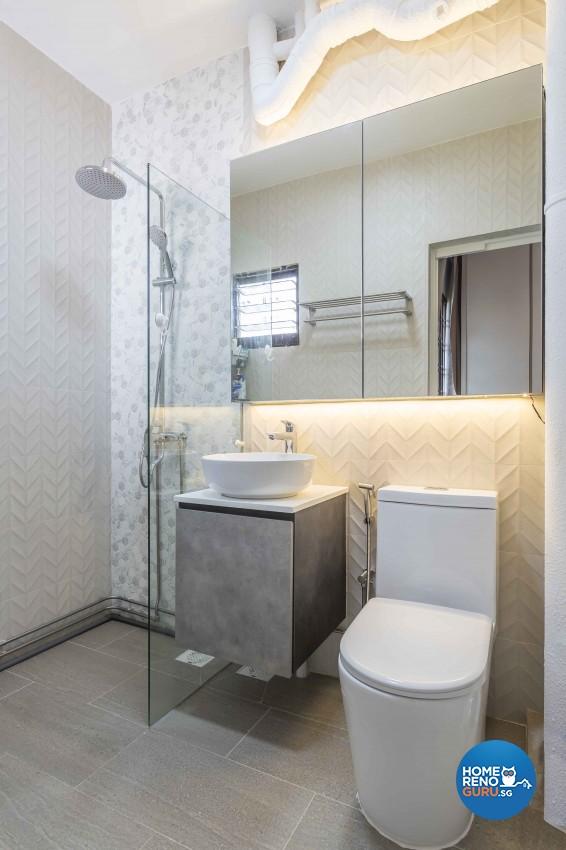 Modern Design - Bathroom - HDB 3 Room - Design by Met Interior