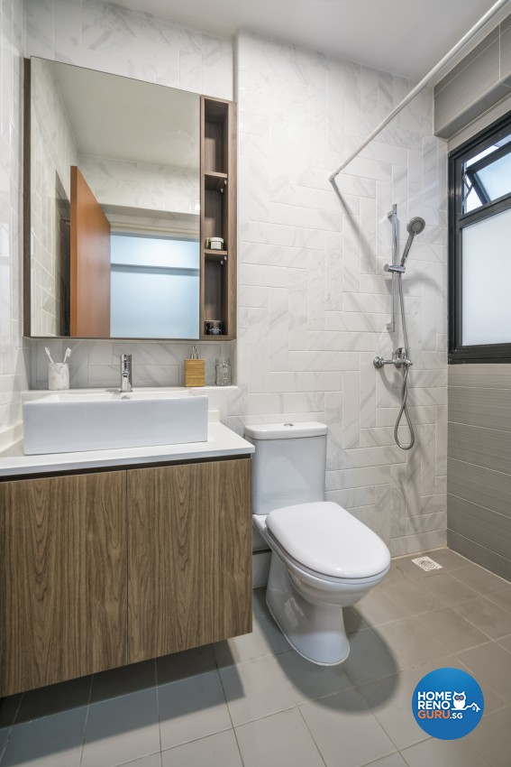 Minimalist Design - Bathroom - HDB 4 Room - Design by Met Interior