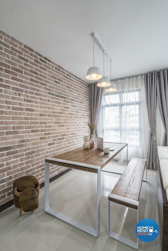Minimalist Design - Dining Room - HDB 4 Room - Design by Met Interior