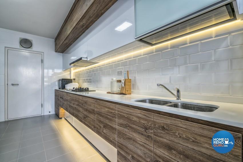 Minimalist Design - Kitchen - HDB 4 Room - Design by Met Interior