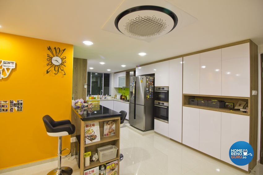 Contemporary, Modern Design - Kitchen - Condominium - Design by Met Interior