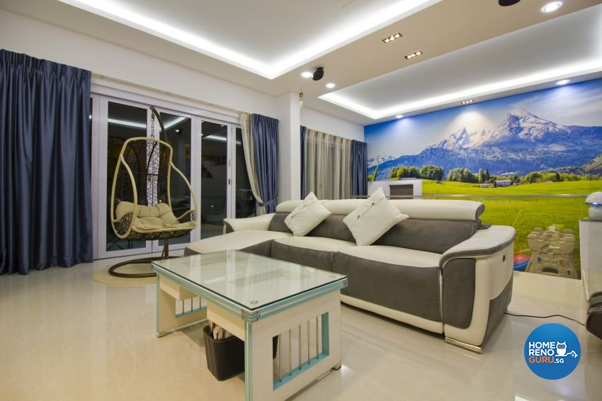 Contemporary, Modern Design - Living Room - Condominium - Design by Met Interior