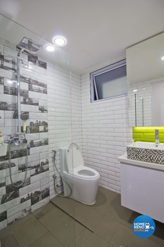 Contemporary, Modern Design - Bathroom - Condominium - Design by Met Interior