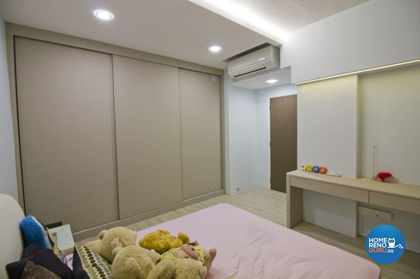 Contemporary, Modern Design - Bedroom - Condominium - Design by Met Interior