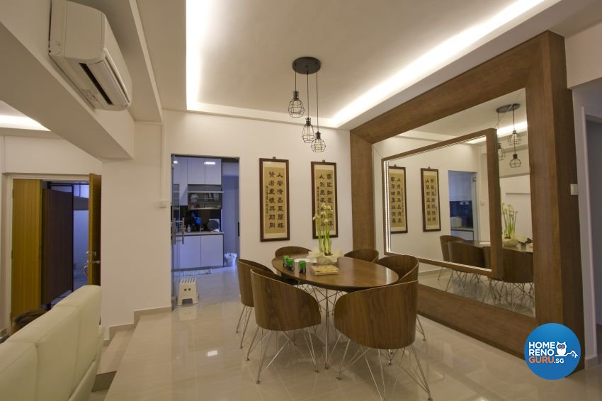 Modern Design - Dining Room - Condominium - Design by Met Interior