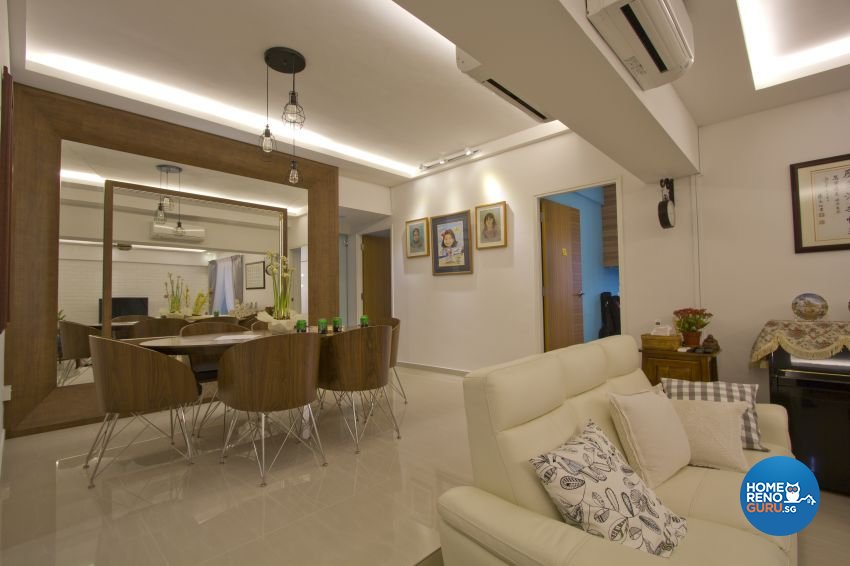 Modern Design - Living Room - Condominium - Design by Met Interior
