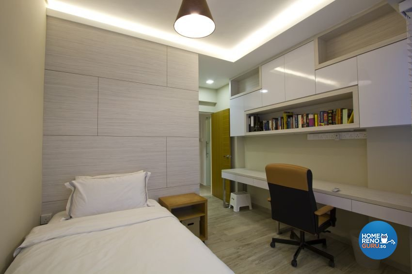 Modern Design - Bedroom - Condominium - Design by Met Interior