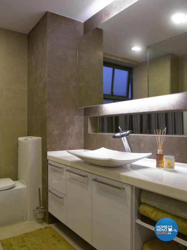 Contemporary, Modern Design - Bathroom - Others - Design by Meter Cube Interiors Pte Ltd