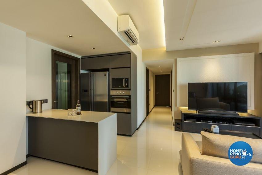 Modern Design - Kitchen - Condominium - Design by Meter Cube Interiors Pte Ltd