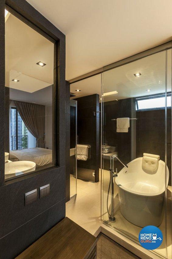 Modern Design - Bathroom - Condominium - Design by Meter Cube Interiors Pte Ltd