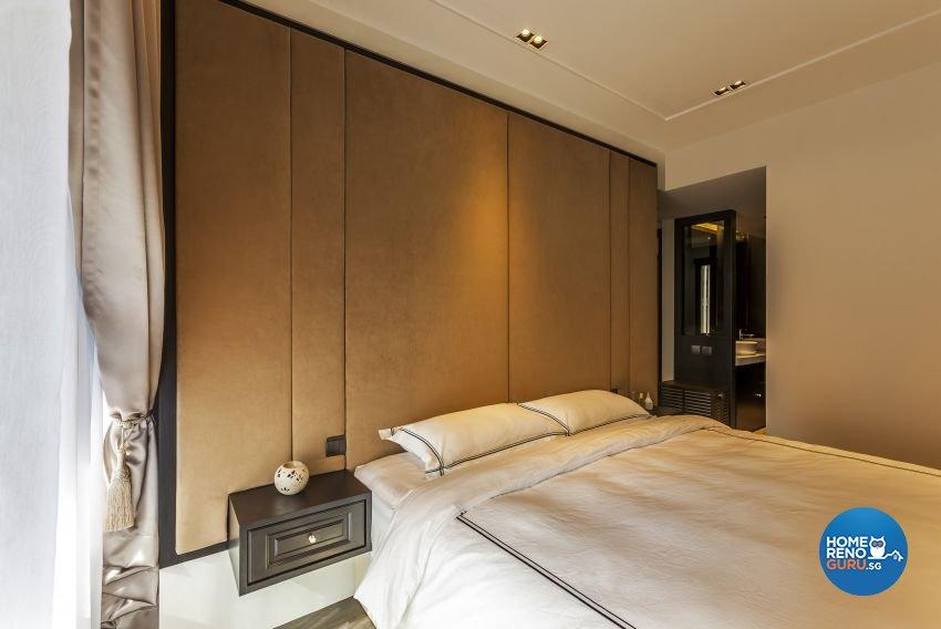 Modern Design - Bedroom - Condominium - Design by Meter Cube Interiors Pte Ltd
