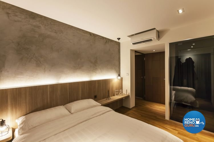 Minimalist, Scandinavian Design - Bedroom - HDB 4 Room - Design by Meter Cube Interiors Pte Ltd