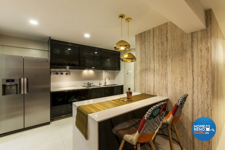 Contemporary, Modern Design - Kitchen - Others - Design by Meter Cube Interiors Pte Ltd