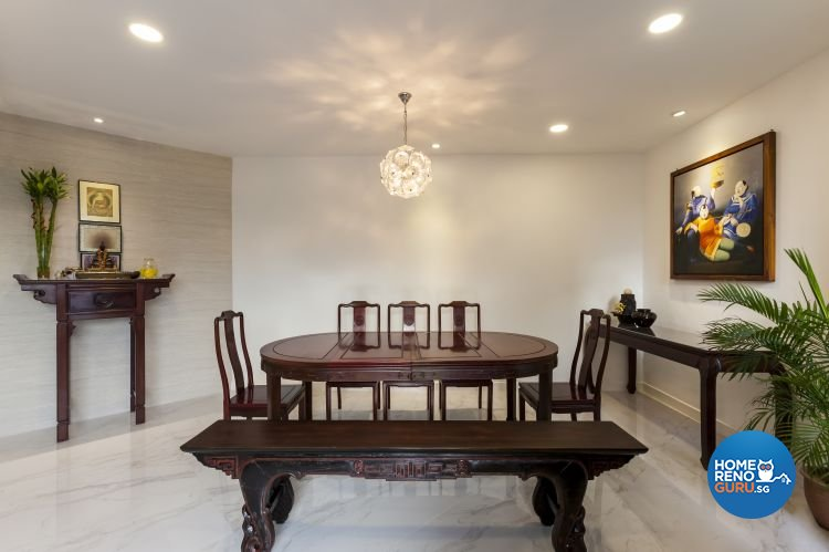 Minimalist, Modern Design - Dining Room - Others - Design by Meter Cube Interiors Pte Ltd