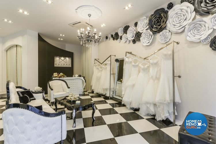Classical, Victorian Design - Commercial - Retail - Design by Meter Cube Interiors Pte Ltd