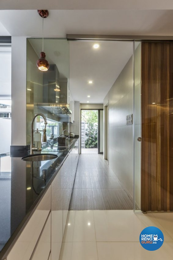 Contemporary, Minimalist, Modern Design - Kitchen - Landed House - Design by Meter Cube Interiors Pte Ltd