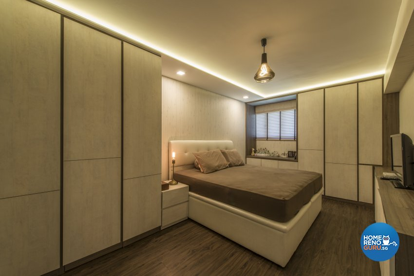 Modern Design - Bedroom - Condominium - Design by Meter Square Pte Ltd