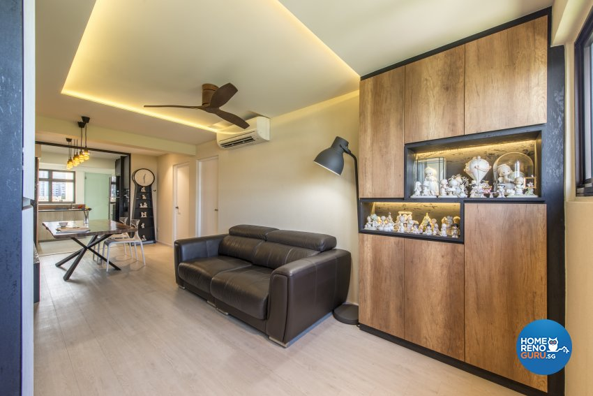 Modern Design - Living Room - Condominium - Design by Meter Square Pte Ltd
