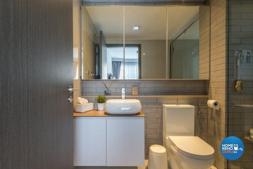 Scandinavian Design - Bathroom - Condominium - Design by Meter Square Pte Ltd