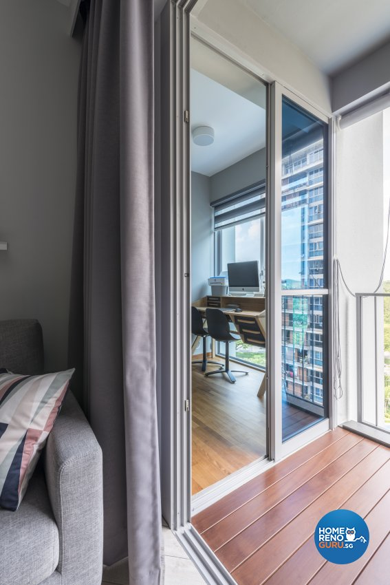 Scandinavian Design - Balcony - Condominium - Design by Meter Square Pte Ltd