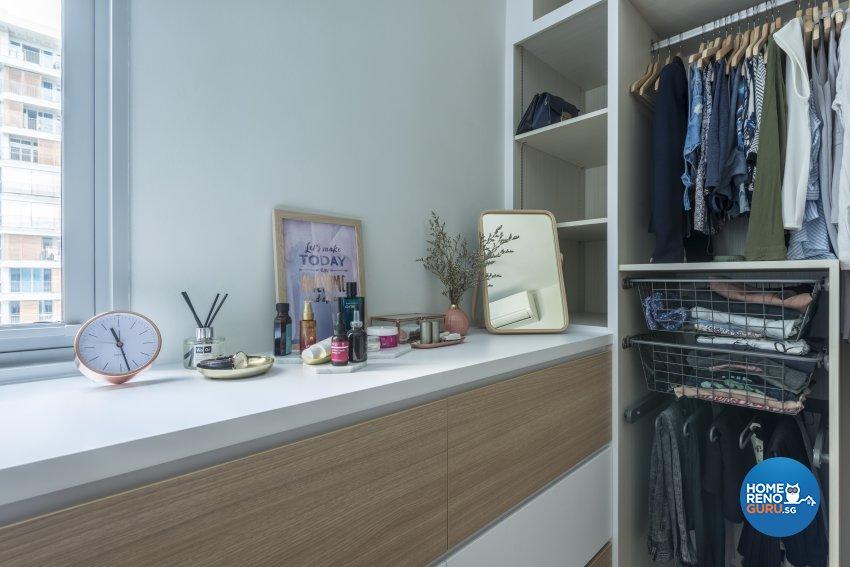 Scandinavian Design - Bedroom - Condominium - Design by Meter Square Pte Ltd