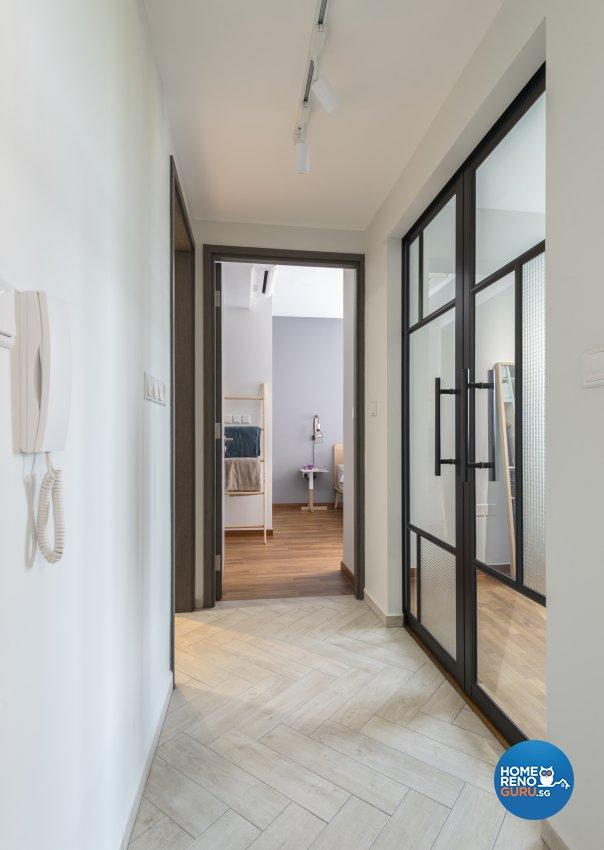 Scandinavian Design - Living Room - Condominium - Design by Meter Square Pte Ltd