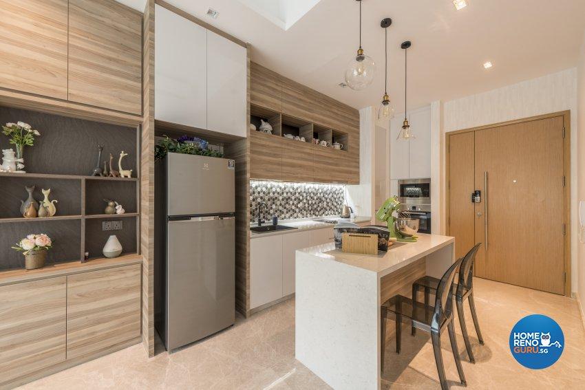 Contemporary, Modern Design - Dining Room - Condominium - Design by Meter Square Pte Ltd