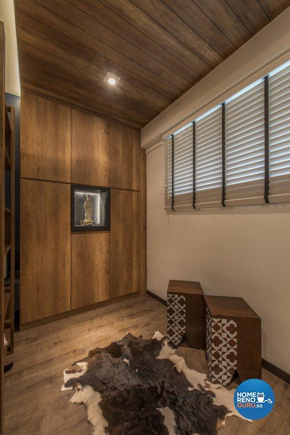 Contemporary Design - Living Room - HDB 4 Room - Design by Meter Square Pte Ltd