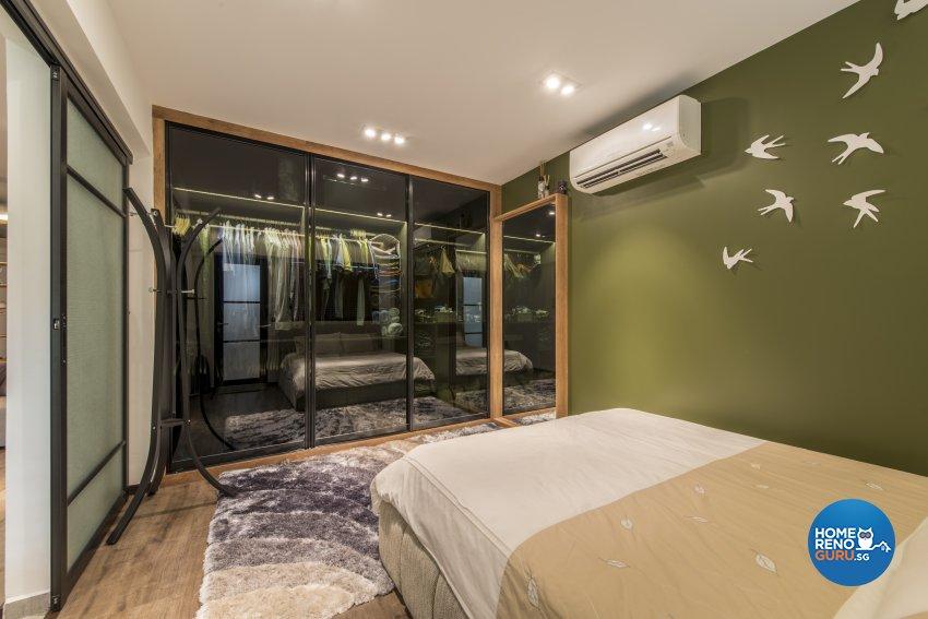Contemporary Design - Bedroom - HDB 4 Room - Design by Meter Square Pte Ltd