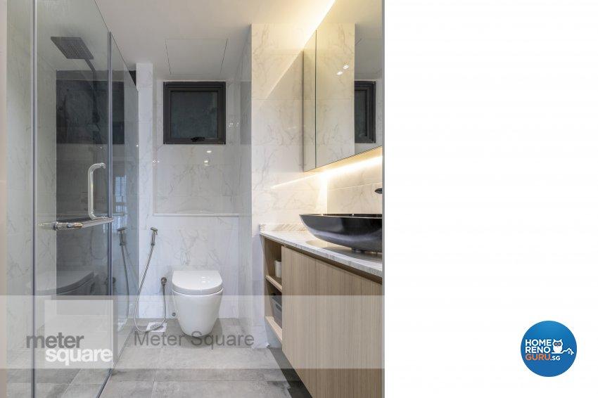 Modern, Scandinavian Design - Bathroom - HDB 4 Room - Design by Meter Square Pte Ltd