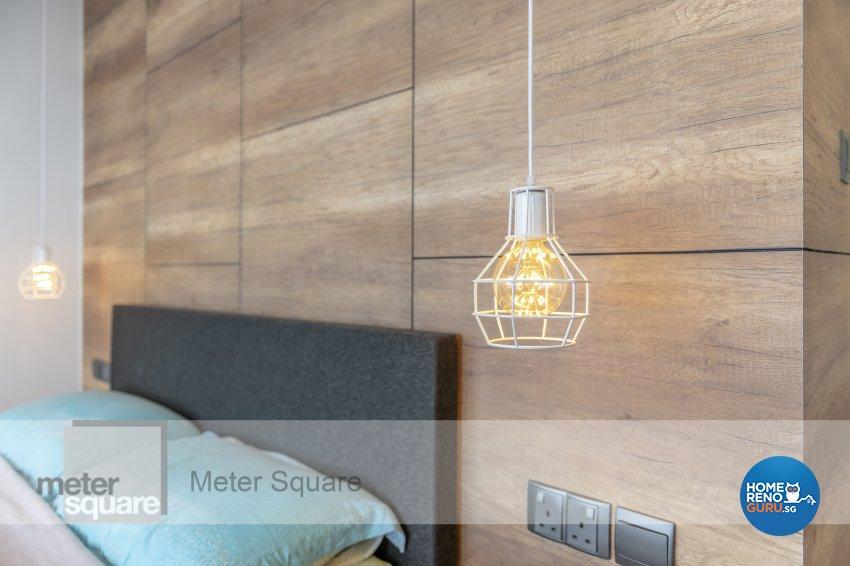 Modern, Scandinavian Design - Bedroom - HDB 4 Room - Design by Meter Square Pte Ltd