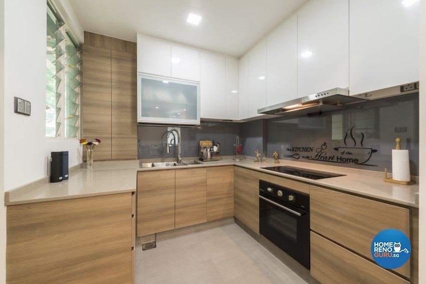 Modern Design - Kitchen - Condominium - Design by Meter Square Pte Ltd