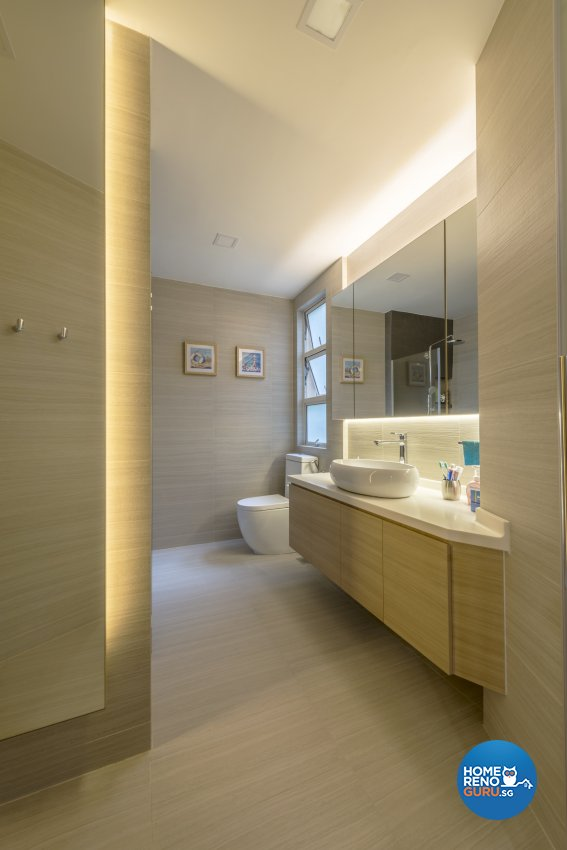 Modern Design - Bathroom - Condominium - Design by Meter Square Pte Ltd