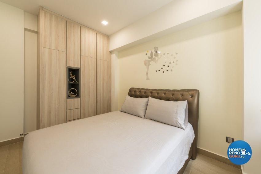 Modern Design - Bedroom - Condominium - Design by Meter Square Pte Ltd