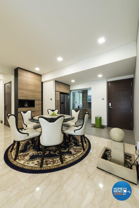 Modern Design - Dining Room - Condominium - Design by Meter Square Pte Ltd