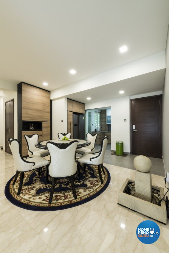 Modern Design - Dining Room - Condominium - Design by Meter Square Pte Ltd